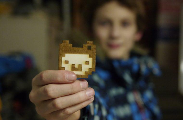 Alpaka aus Holz aus dem Lasercutter